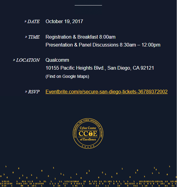 CCOE Secure SD event